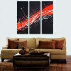 Image of Sale - 3 infinity 3 till black muholland midnight drive abstract paintings
